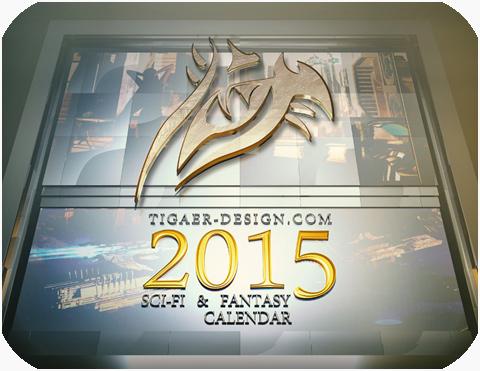 Scifi & Fantasy Calendar 2015