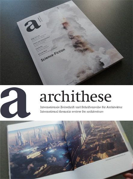 Archithese Issue 4/2016 Feature