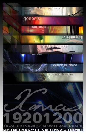 X-Mas 2008 Special Wallpaper Pack!