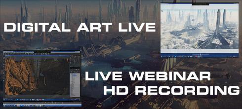 3d art direct - Live webinar