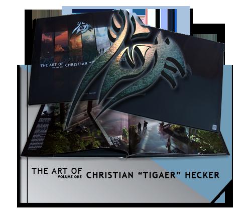 The Art Of Christian 'Tigaer' Hecker